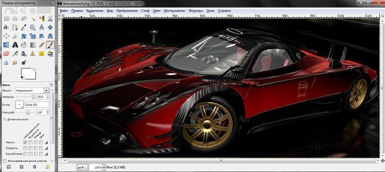 Растровый графический редактор GIMP
