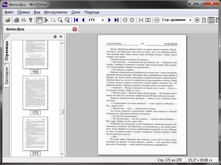 WinDjView Программа для чтения djvu файлов