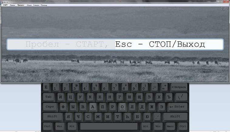 Клавиатурный тренажер Stamina