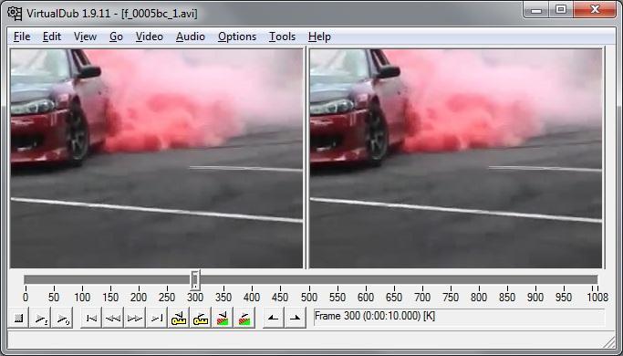 Программа для работы с видео VirtualDub