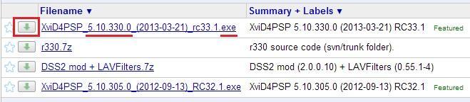 Скачивание программы XviD4PSP